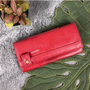 Samsara Matt & Nat Large Red Wallet